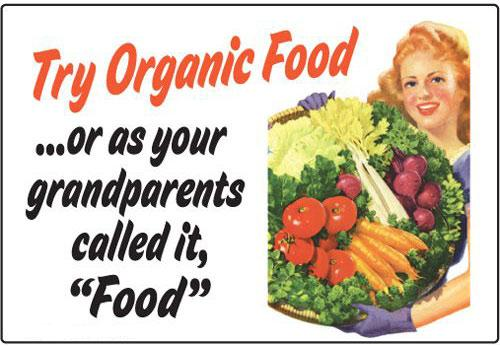 try-organic-food-poster
