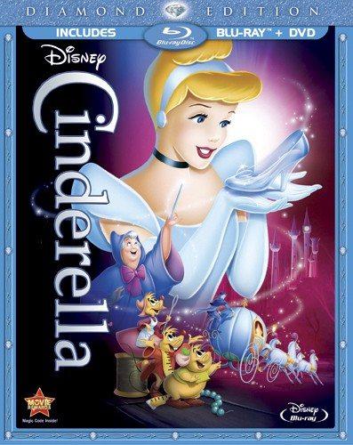 Cinderella Blu-Ray DVD Combo Pack Shot