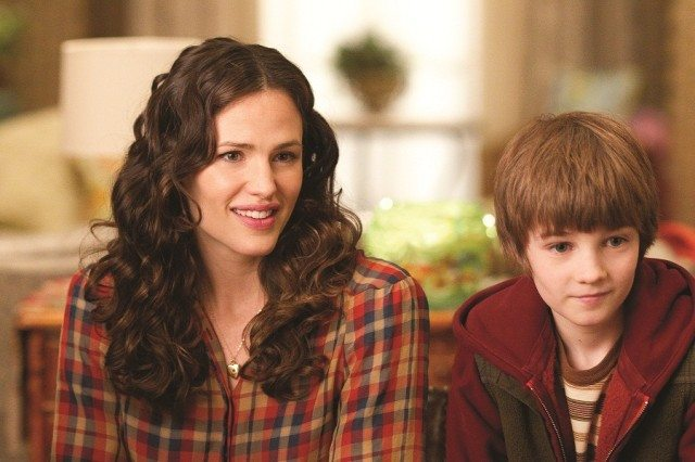 """THE ODD LIFE OF TIMOTHY GREEN""..Photo ID:  Jennifer Garner, left; Cameron ""CJ"" Adams, right...Photo Credit: Phil Bray...©Disney Enterprises, Inc. All Rights Reserved."