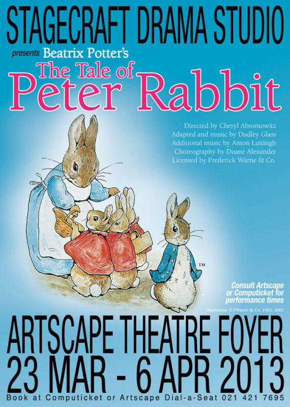 Win 4 tickets to see The Tale of Peter Rabbit at The Artscape