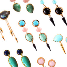 Bete Noire earrings all