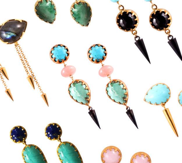 Bete Noire earrings all