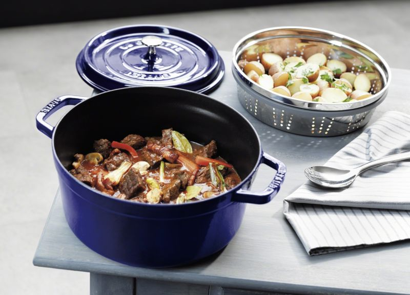 WIN a Staub Cocotte and Steamer from Kitchen Passion
