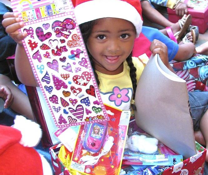 Santa Shoebox Project 2013