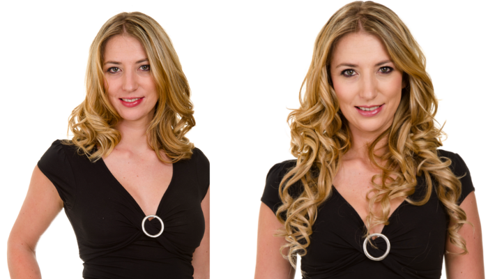Clip In Hair Extensions Before And After 73