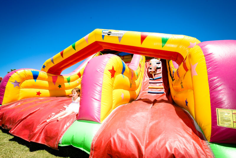 Jumping castles and plenty more inflatables for kids to enjoy