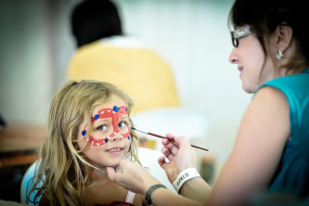 Kiddies facepainting