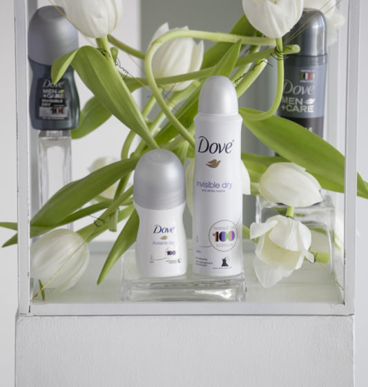Dove Invisible Dry For Men and Women