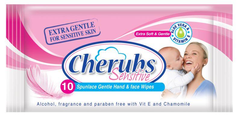 Cherubs-SENSTravelwipesn