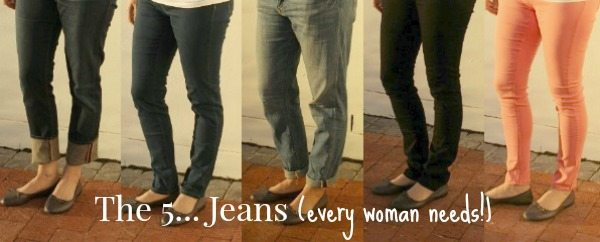 jeans every woman needs