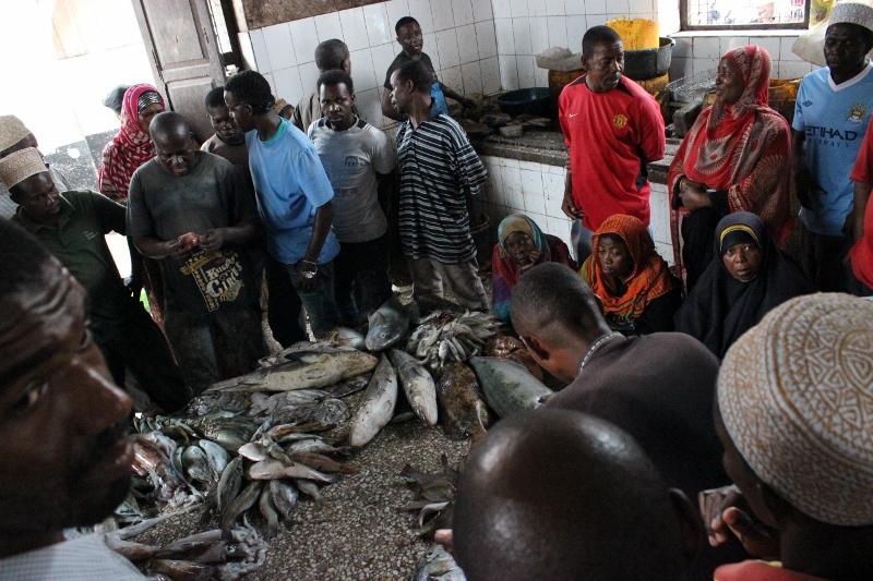 Zanzibar Fish Market
