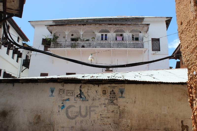 Zanzibar buildings