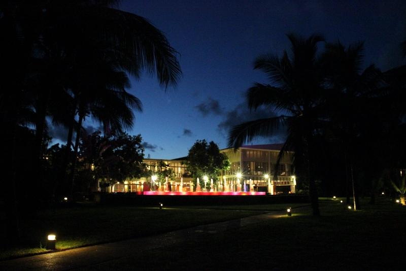 Melia Hotel Restaurant at Night