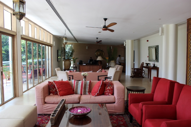 Melia Hotel Zanzibar Reception