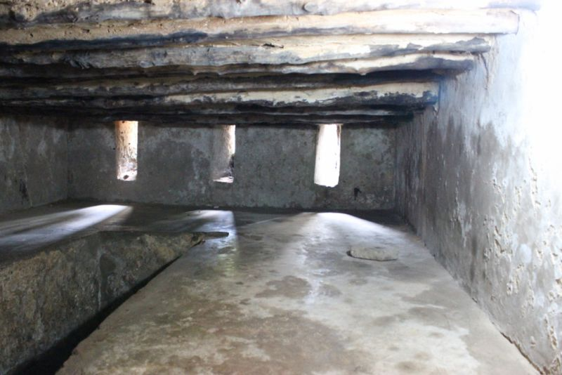 Slave chamber at slave monument