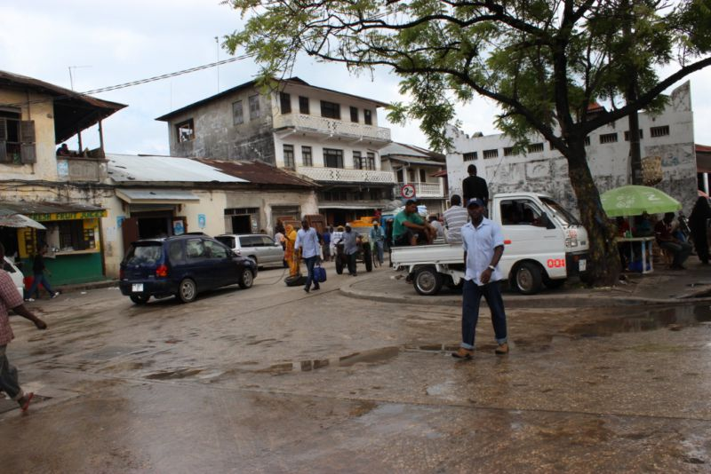 Stone Town intersection