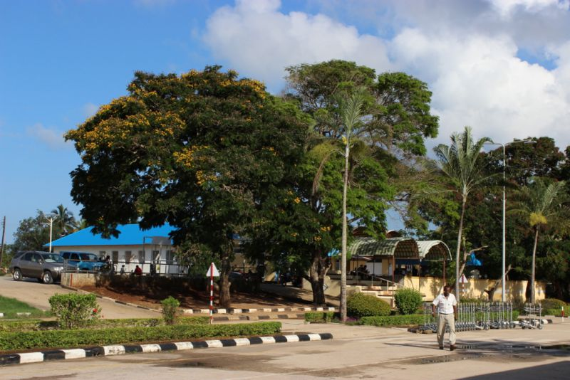 Picture of Zanzibar airport