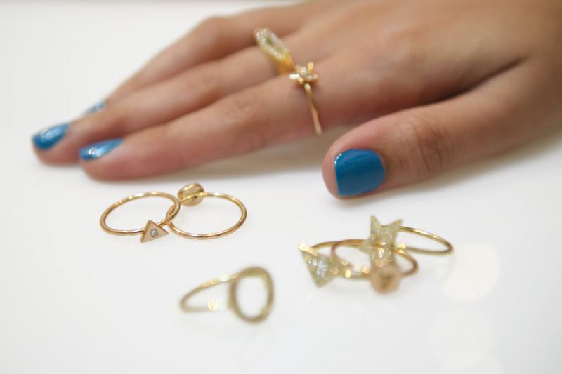 Kirsten Goss Diamond Rings