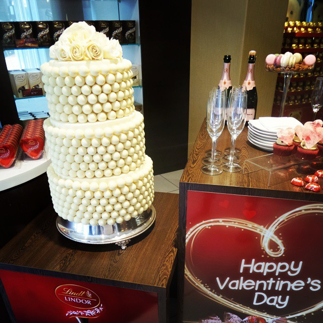 lindt wedding cake