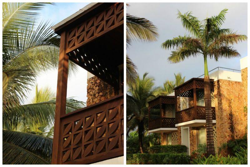 melia hotel room balconies