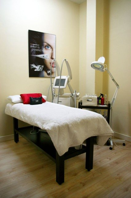 small Endermologie Treatment room