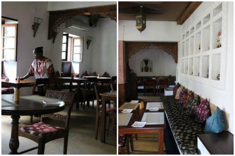 Restaurant in Stone Town