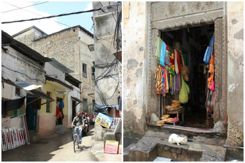 Gift shops in Stone Town