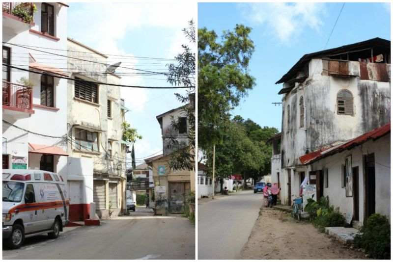 Characterful buildings of Stone Town
