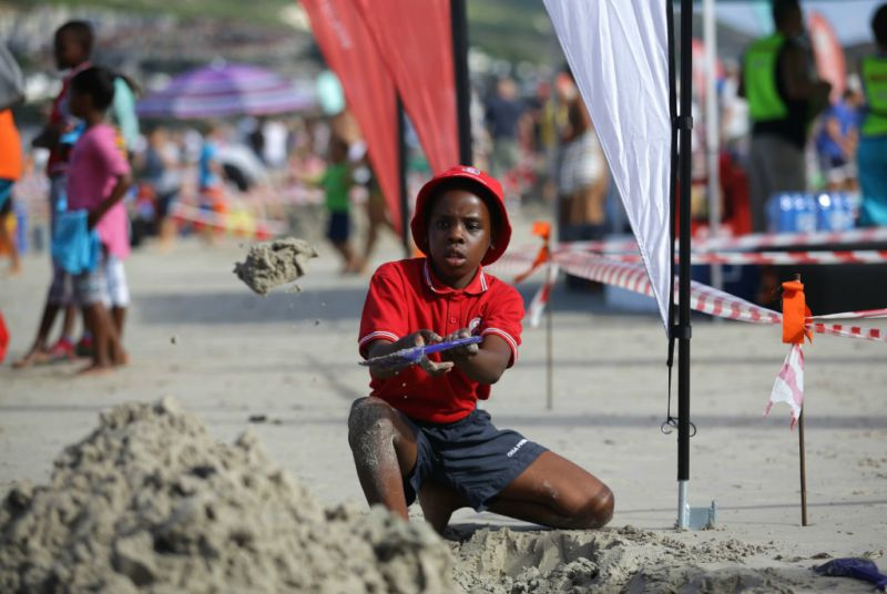 hout bay sandcastle competition 1