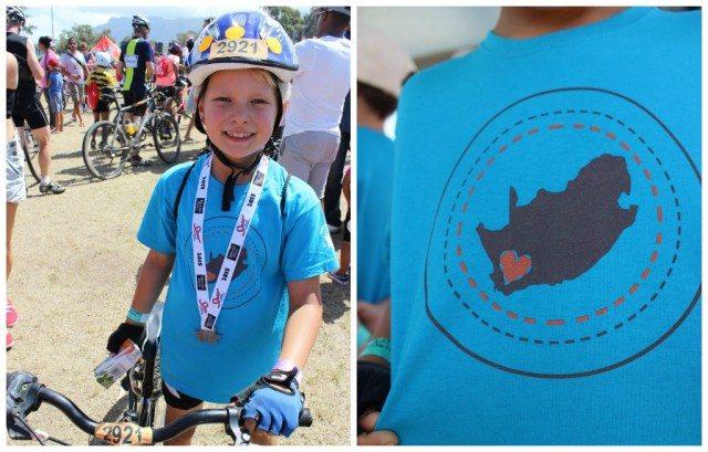 kids cycle tour 2015