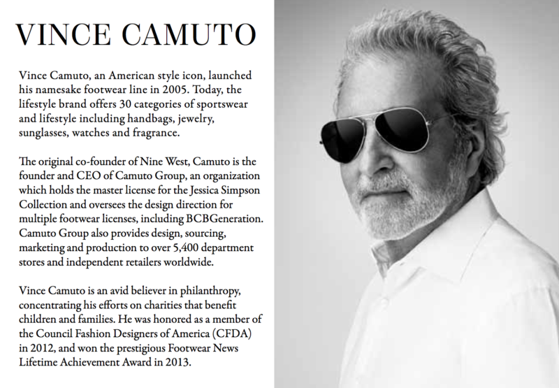 vince camuto about