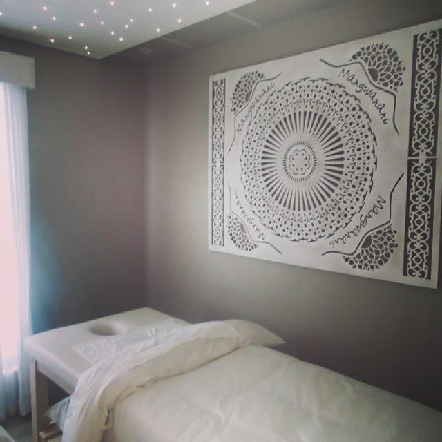 mangwanani spa room