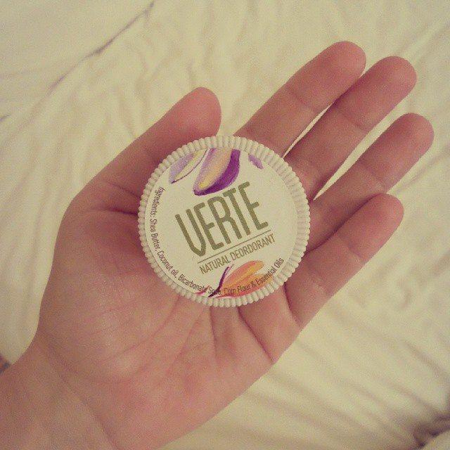 verte natural deodorant