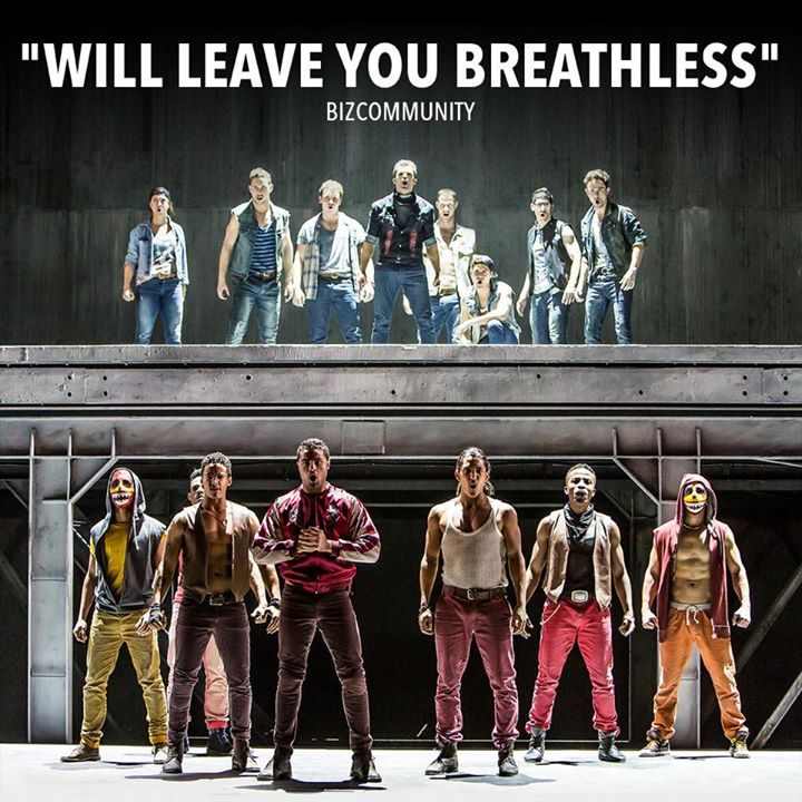"""... Stephen Sondheim's """"West Side Story"""" to a sold-out crowd. Continued"""