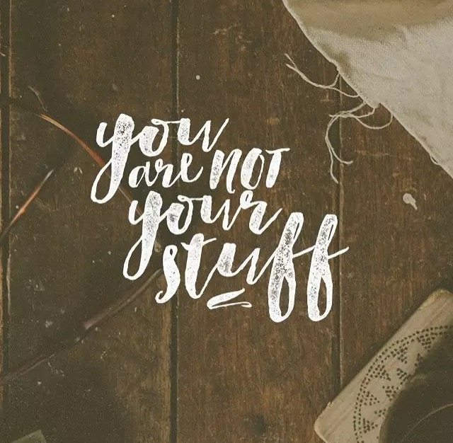 You are not your stuff - DVO App