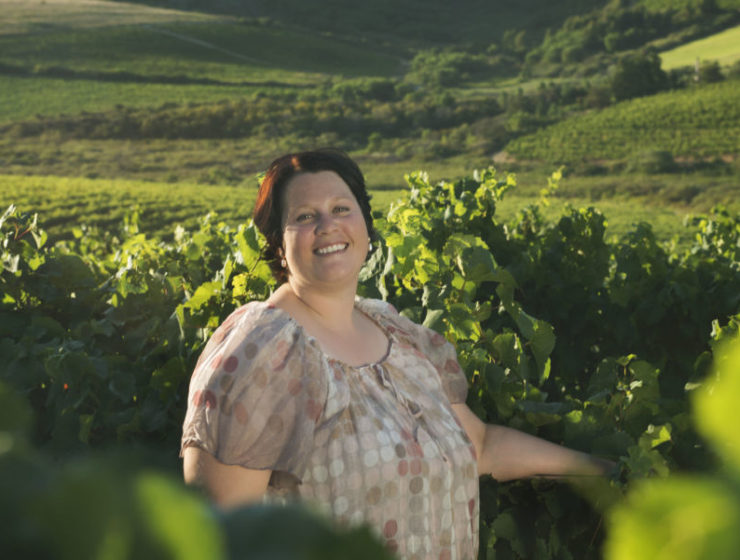 Michelle Louw, Zonnebloem assistant white winemaker (HR)