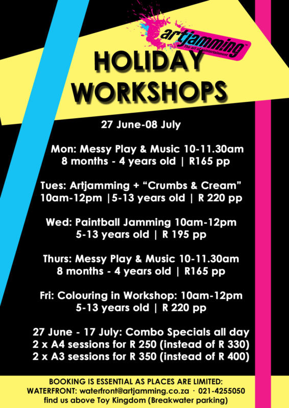 artjamming holiday programme
