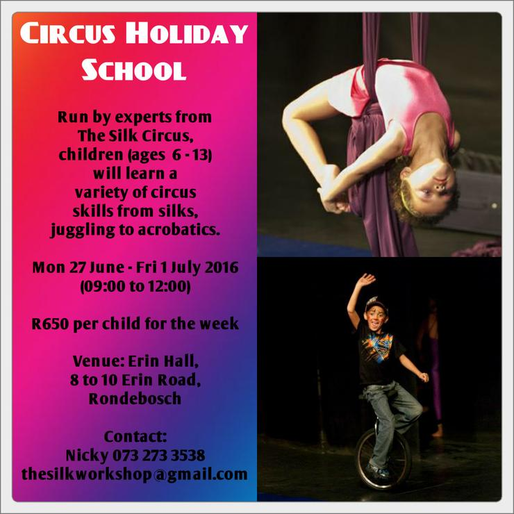 circus holiday school
