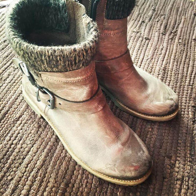 green cross winter boots