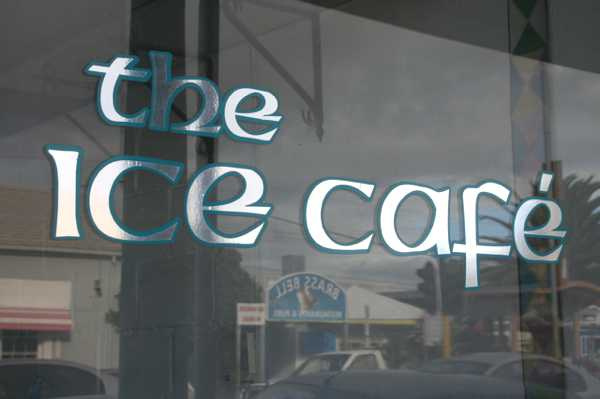 the ice cafe