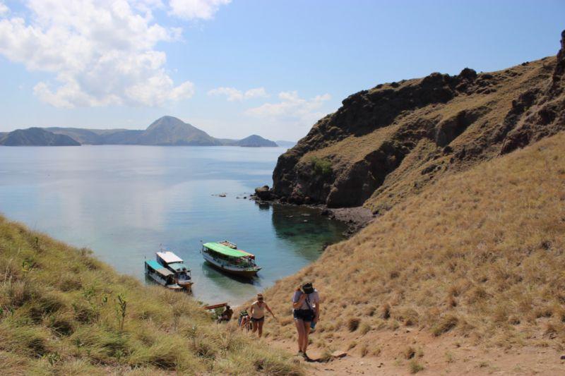 Hiking Padar Island