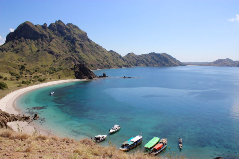 View from Padar Island