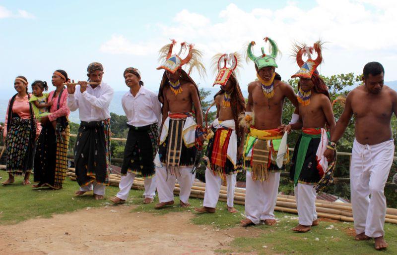 Caci Dance Melo Village