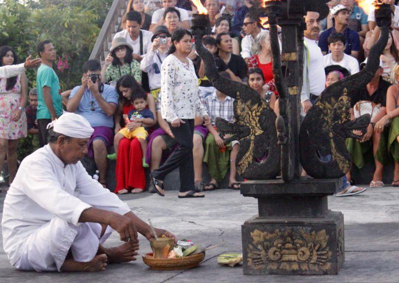 Uluwatu Temple Worship Bali