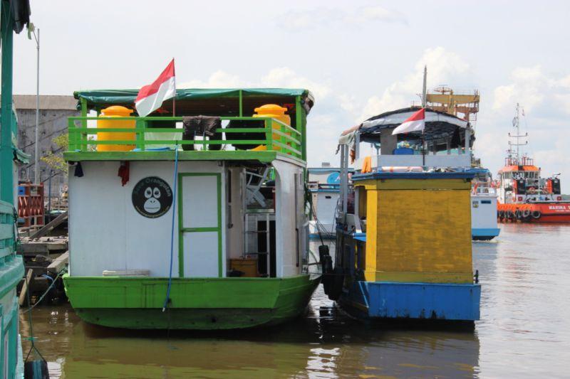 klotok boats