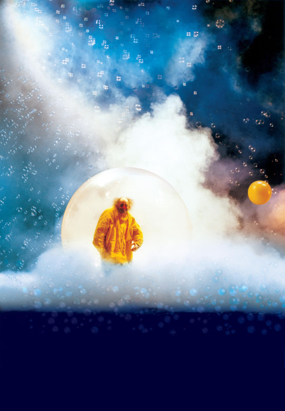 Slava Snowshow Yellow clown in bubble (V.Vial)