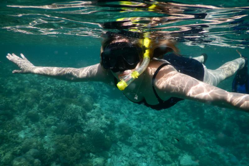 Snorkelling Hoga Island