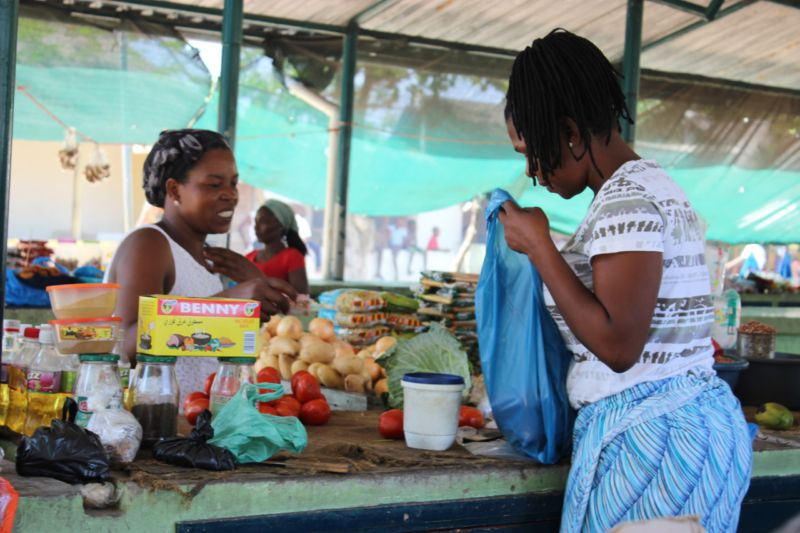 mozambican market