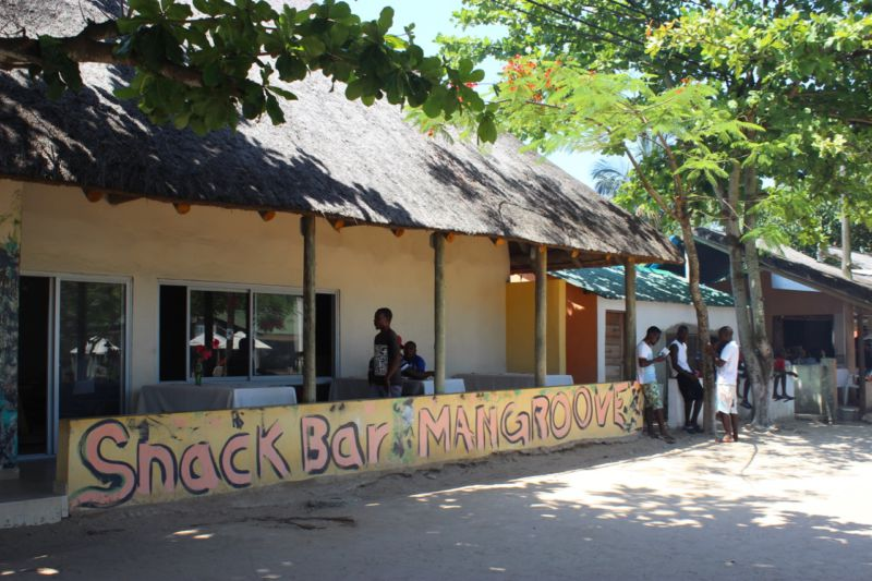 snack bar inhaca
