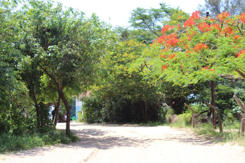inhaca island village